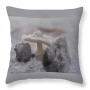 Through The Crust Throw Pillow
