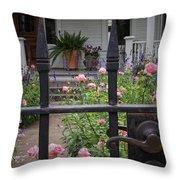 Through The Fence Throw Pillow