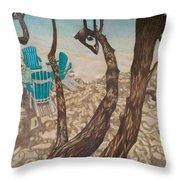 Through The Trees, St John Throw Pillow
