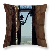The Messiah's Alley Throw Pillow