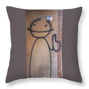 Thumbs Up Throw Pillow
