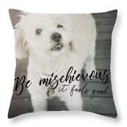 Thumper Dog Quote Throw Pillow