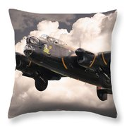 Thumper Gets Airborne Throw Pillow