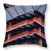 Thunder Dome Df Throw Pillow