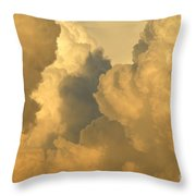 Thunder Heads Throw Pillow