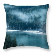 Thunder Lake Throw Pillow
