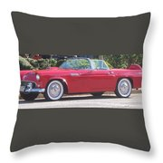 Thunderbird Classic 1955 Throw Pillow