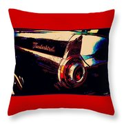Thunderbird Throw Pillow