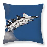 Thunderbirds Echelon Throw Pillow