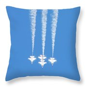 Thunderbirds Of The Usaf Throw Pillow
