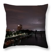 Thunderbolt And Lighning  Throw Pillow
