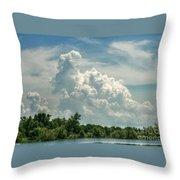 Thunderheads Abound Throw Pillow