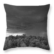 Thunderstorm Ir 0731 Throw Pillow