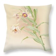 Thunia Brymeriana Throw Pillow