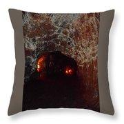 Thurston Lava Tube 3 Throw Pillow