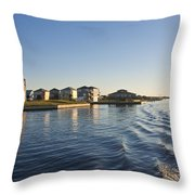 Ti Observation Tower 2 Throw Pillow by Betsy Knapp
