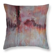 Tickled Pink 2 Throw Pillow by Kristen Abrahamson
