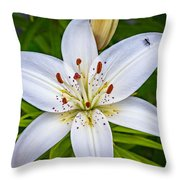 Ticklish? Throw Pillow