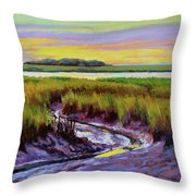 Tidal Stream Throw Pillow