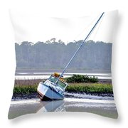 Tide Over Throw Pillow