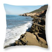 Tide Pools Area Throw Pillow
