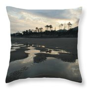 Tidepools At Dawn Throw Pillow