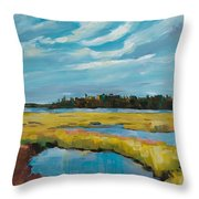 Tidewater II Throw Pillow