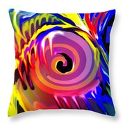 Tie Died Dreams Throw Pillow