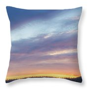 Tied Off In French Village, Nova Scotia Throw Pillow