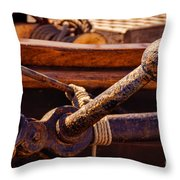 Tied Off Throw Pillow