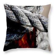 Tied Together Throw Pillow