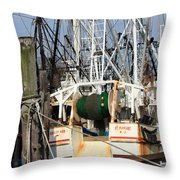 Tied Up Throw Pillow