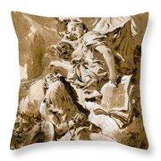 Tiepolo: Saint Jerome Throw Pillow