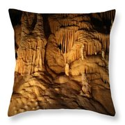 Tiers Of Formation - Cave Throw Pillow
