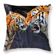 Tiger 05 Throw Pillow