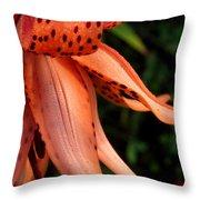 Tiger Lily Throw Pillow