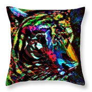 Tiger Se Throw Pillow