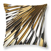 Tiger Stripes Throw Pillow