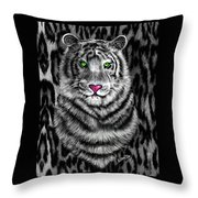 Tigerflouge Throw Pillow