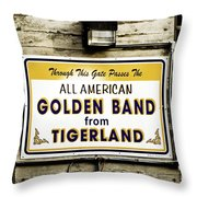 Tigerland Band Throw Pillow