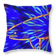 Tigershark 12 Throw Pillow