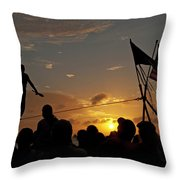 Tightrope Throw Pillow