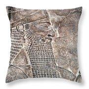 Tiglath Pileser IIi Throw Pillow