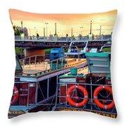 Tigre Delta 018 Throw Pillow