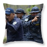 Tigres Commandos Conduct Bounding Throw Pillow