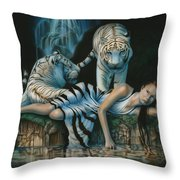 Tigress Throw Pillow