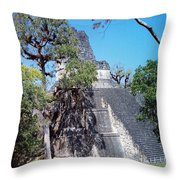 Tikal Iv Throw Pillow