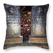 Til Death Do Us Part Throw Pillow