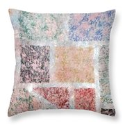 Tile Splash Throw Pillow