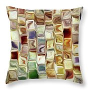 Tiled Abstract Throw Pillow